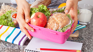 Quick tips for nutritious lunches