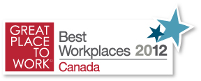 Canadat's best places to work