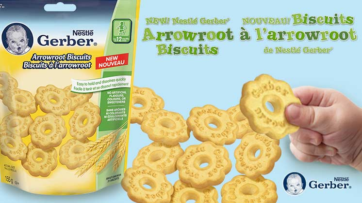Gerber Arrowroot Biscuits