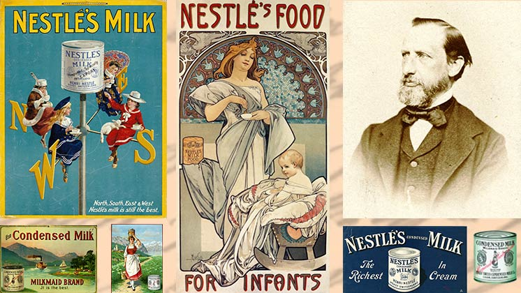 Henri Nestlé, company founder, turns 200