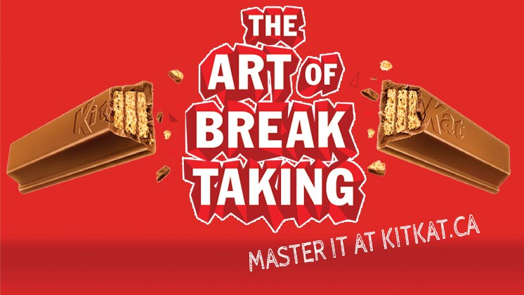 Kit Kat Art of Break Taking
