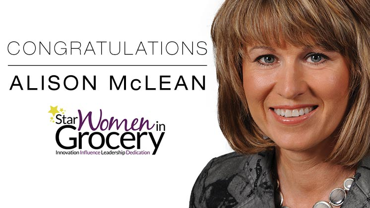 Alison McLean Star Women in Grocery