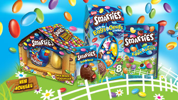 Smarties Easter products