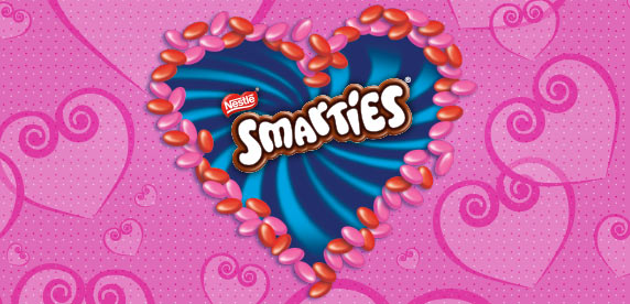 Happy Valentines Day From Smarties Nestle Canada