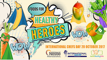 "Nestlé serves up ""Foods for Healthy Heroes"" to celebrate International Chefs Day"