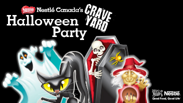 Nestle Canada Craveyard Halloween Party