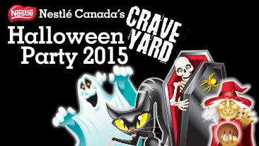 Nestle Canada's Craveyard Halloween party is back 2015