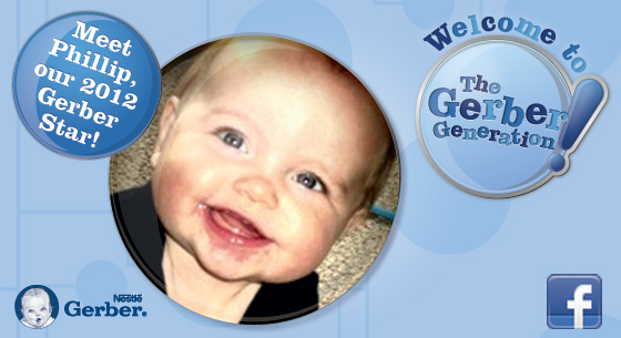 Meet Phillip: Canada's 2012 Gerber Star!